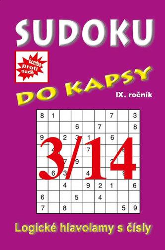 Sudoku do kapsy 3/2014 (fialová)