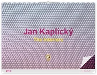 Kalendář 2015 - The Interiors Jan Kaplický - nástěnný s prodlouženými zády