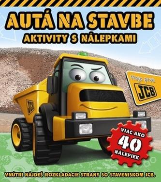 Autá na stavbe Aktivity s nálepkami
