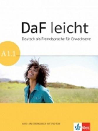 DaF leicht A1.1 – K/AB + DVD-Rom