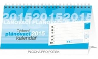 Kalendář 2015 - Plánovací řádkový - stolní