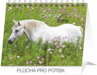 Kalendář 2015 - Poezie koní Christiane Slawik Praktik - stolní