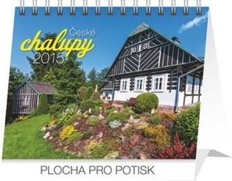 Kalendář 2015 - České chalupy Praktik - stolní