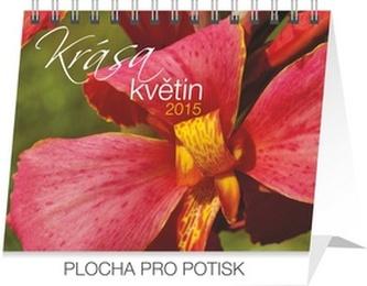 Kalendář 2015 - Krása květin Praktik - stolní