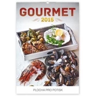 Kalendář 2015 - Gourmet David Háva - nástěnný s prodlouženými zády