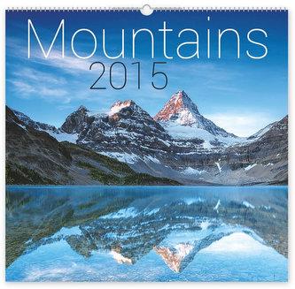 Kalendář 2015 - Hory - nástěnný s prodlouženými zády