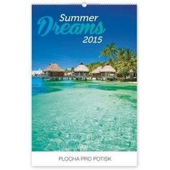 Kalendář 2015 - Summer Dreams - nástěnný s prodlouženými zády