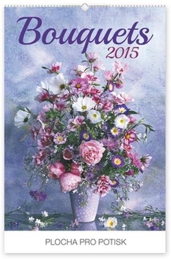 Kalendář 2015 - Kytice Praktik - nástěnný s prodlouženými zády