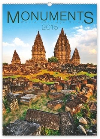 Kalendář 2015 - Monuments - nástěnný