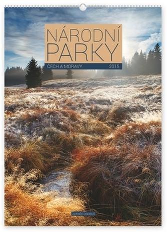 Kalendář 2015 - Národní parky Čech a Moravy Zdeněk Ondruš - nástěnný