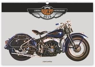 Kalendář 2015 - Harleys Libero Patrignani - nástěnný
