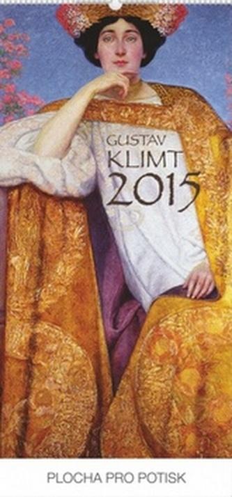 Kalendář 2015 - Gustav Klimt - nástěnný s prodlouženými zády