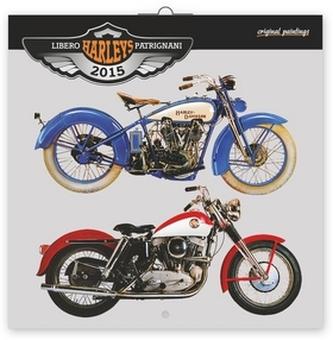Kalendář 2015 - Harleys Libero Patrignani - nástěnný (CZ, SK, HU, PL, RU, GB)