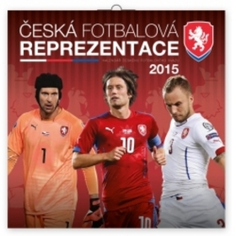 Kalendář 2015 - Fotbalová reprezentace - nástěnný