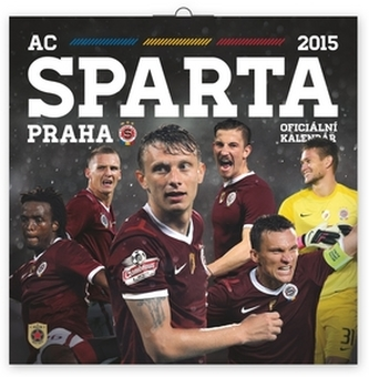 Kalendář 2015 - AC Sparta Praha - nástěnný