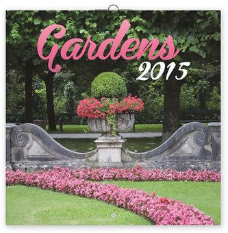 Kalendář 2015 - Zahrady - nástěnný