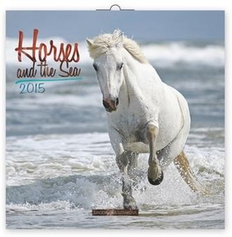 Kalendář 2015 - Koně a moře - nástěnný