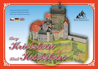 Hrad Kriebstein - Stavebnice papírového modelu