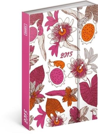 Diář 2015 - Pink Fruits