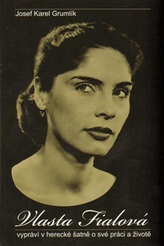 Vlasta Fialová - vypráví v herecké šatně o své práci