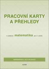 Pracovní karty a přehledy k učebnici Matematika pro 4. ročník