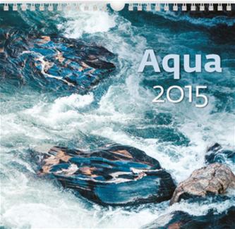 Aqua - nástěnný kalendář 2015