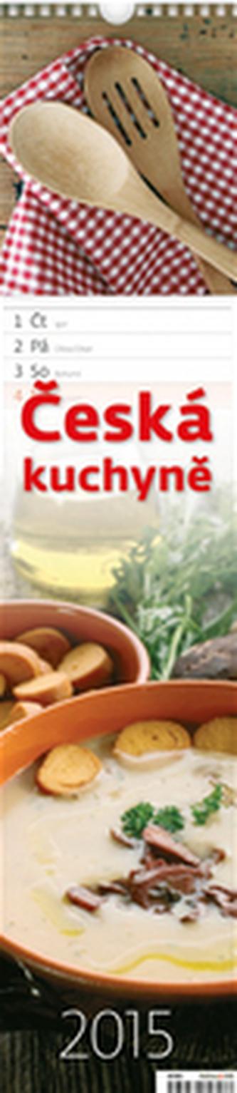 Česká kuchyně - nástěnný kalendář 2015