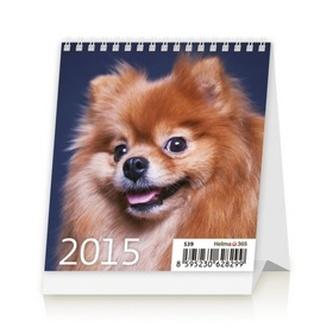 Mini Puppies - stolní kalendář 2015