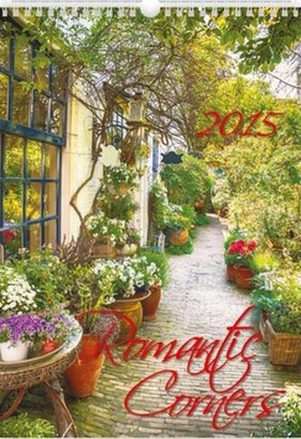 Romantic Corners - nástěnný kalendář 2015