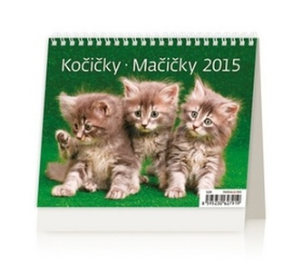 Kočičky Mačičky - stolní kalendář 2015