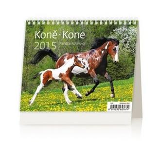 Koně Kone - stolní kalendář 2015