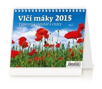 Vlčí máky - stolní kalendář 2015