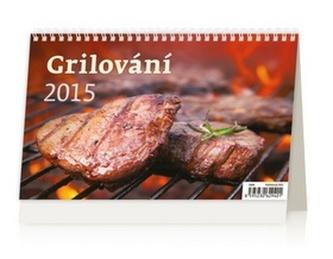 Grilování - stolní kalendář 2015