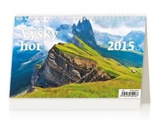 Výšky hor - stolní kalendář 2015