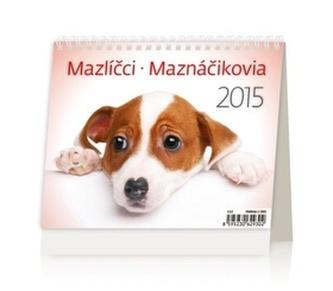 Mazlíčci Maznáčikovia - stolní kalendář 2015