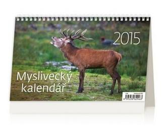Myslivecký kalendář - stolní kalendář 2015