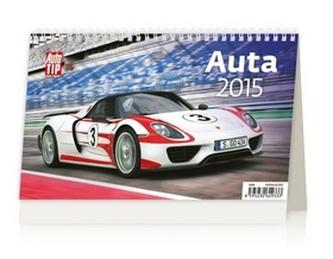 Auta - stolní kalendář 2015