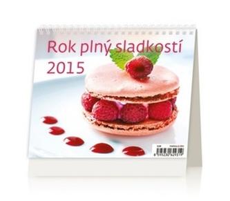 Rok plný sladkostí - stolní kalendář 2015