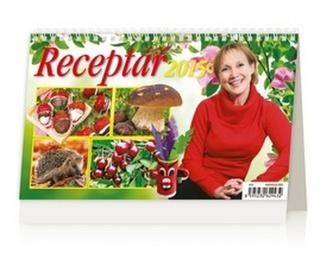 Receptář - stolní kalendář 2015
