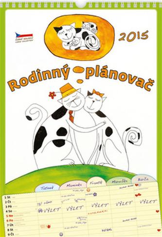 Rodinný plánovač - nástěnný kalendář 2015