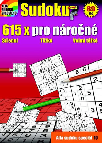 Křížovky 10 - 615x pro náročné