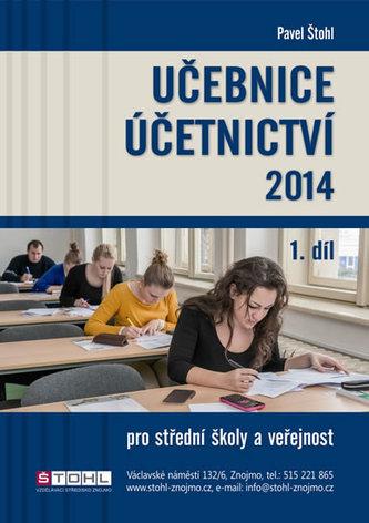 Učebnice Účetnictví I. díl 2014