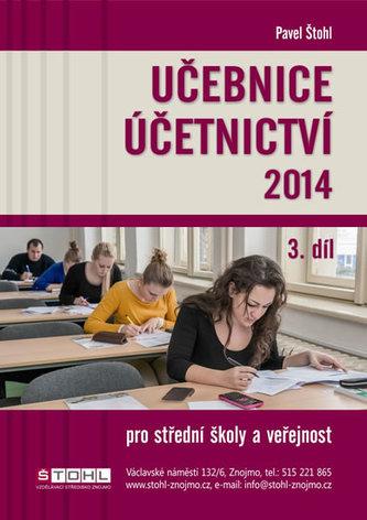 Učebnice Účetnictví III. díl 2014