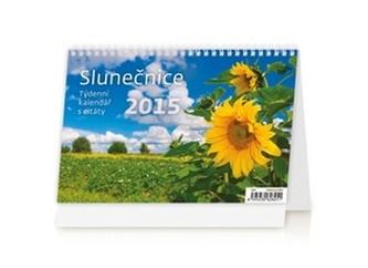 Slunečnice - stolní kalendář 2015