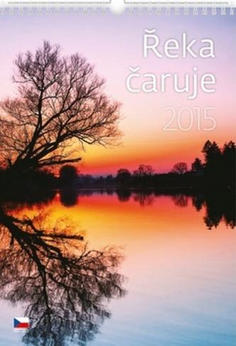 Řeka čaruje - nástěnný kalendář 2015