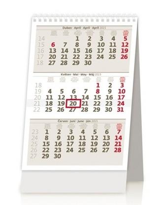 Mini tříměsíční kaledář - stolní kalendář 2015