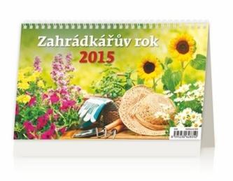 Zahrádkářův rok - stolní kalendář 2015