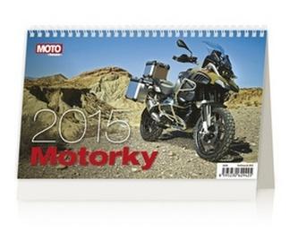 Motorky - stolní kalendář 2015