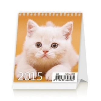 Mini Kittens - stolní kalendář 2015