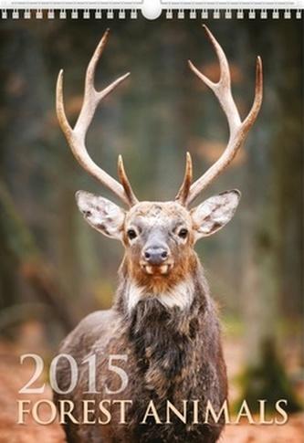Forest Animals - nástěnný kalendář 2015